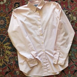 Lands' End Tops - Lands' End light pink blouse